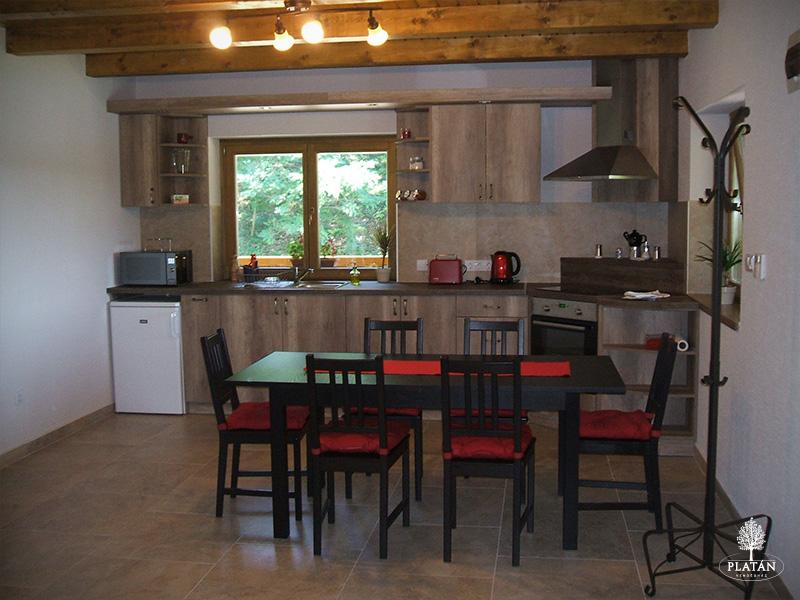 Platán Vendégház - konyha